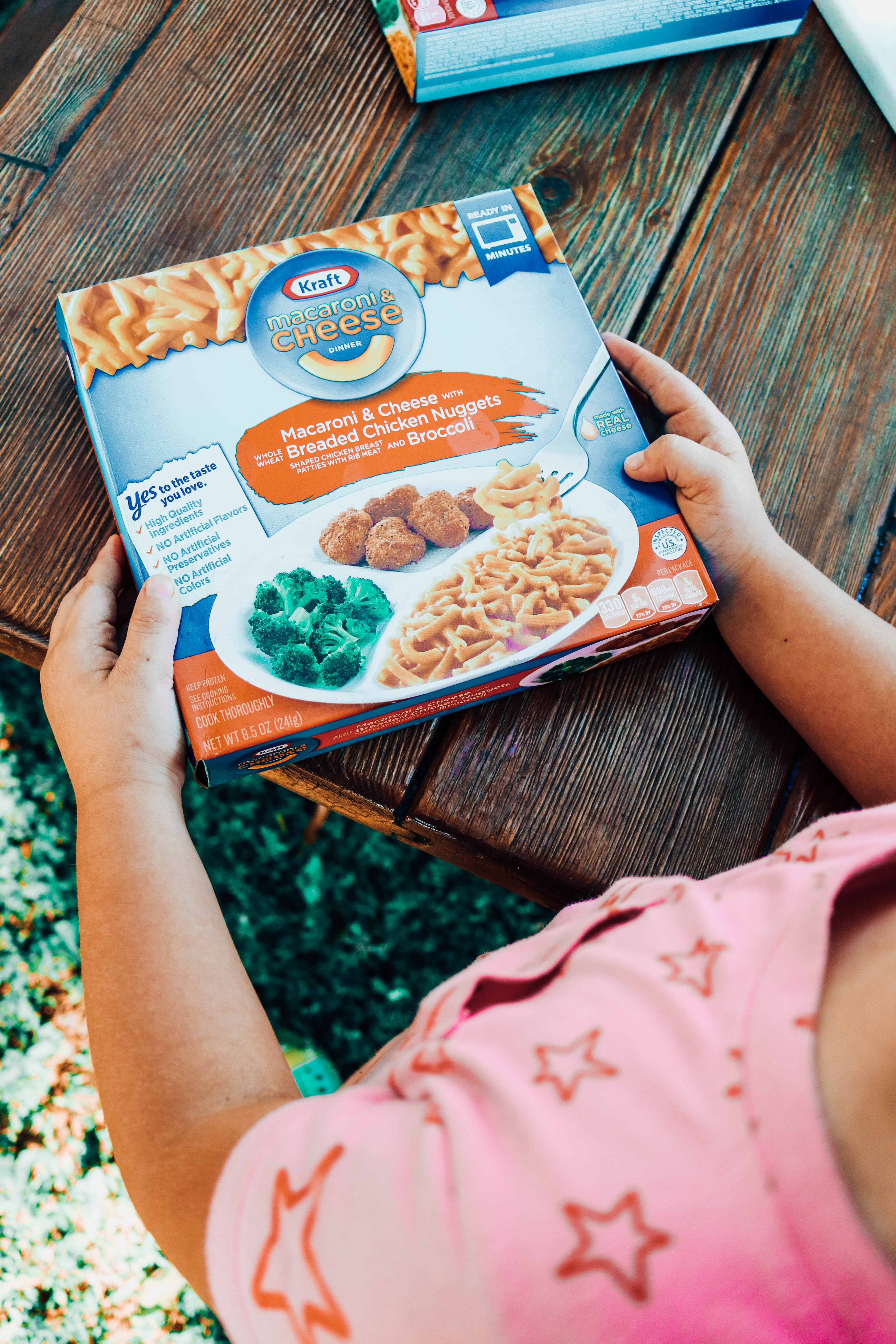 Mom Win At Dinnertime With Kraft Macaroni Cheese Frozen Dinners